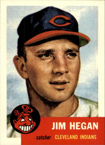 Photo of 1991 Topps Archives 1953 #80 Jim Hegan