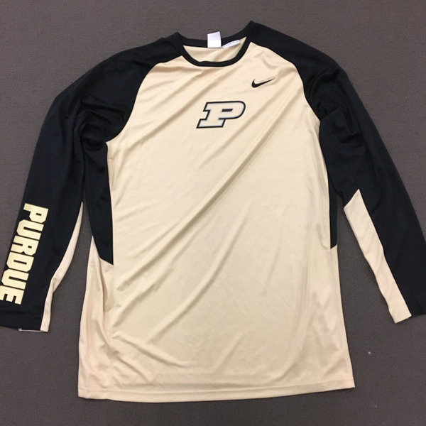 Photo of Purdue Men's Basketball Nike Gold Warm-Up Size 3XL Length +4