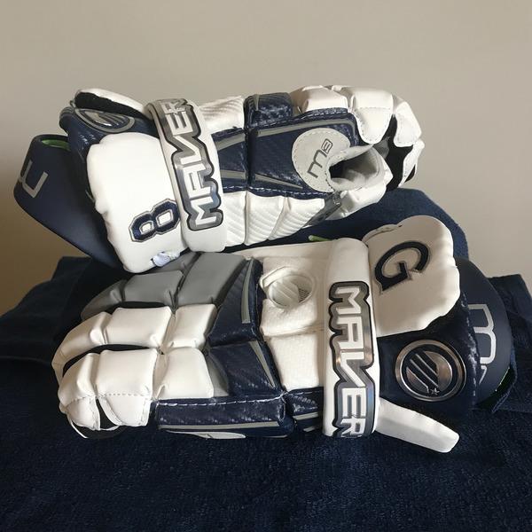 Photo of Georgetown Men's Lacrosse Gloves #8