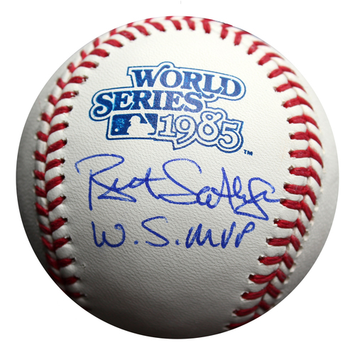 Photo of Autographed Baseball: Bret Saberhagen 1985 World Series