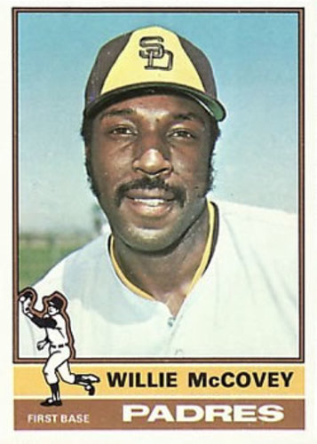 Photo of 1976 Topps #520 Willie McCovey -- Hall of Fame Class of 1986