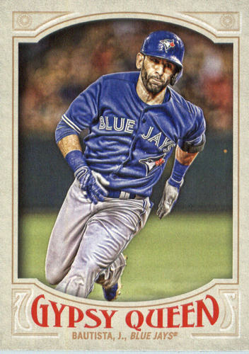 Photo of 2016 Topps Gypsy Queen #12A Jose Bautista/Running