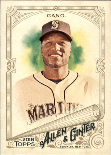 Photo of 2018 Topps Allen and Ginter #35 Robinson Cano