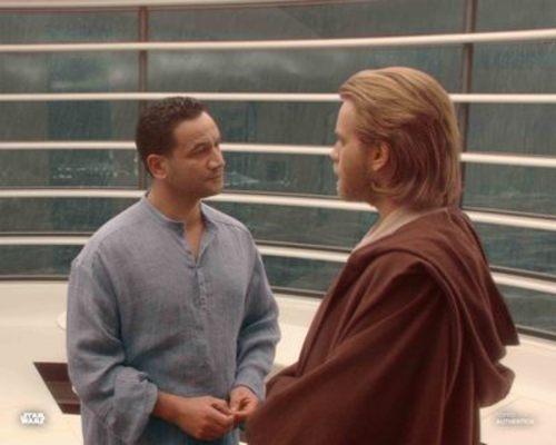 Obi-Wan Kenobi and Jango Fett