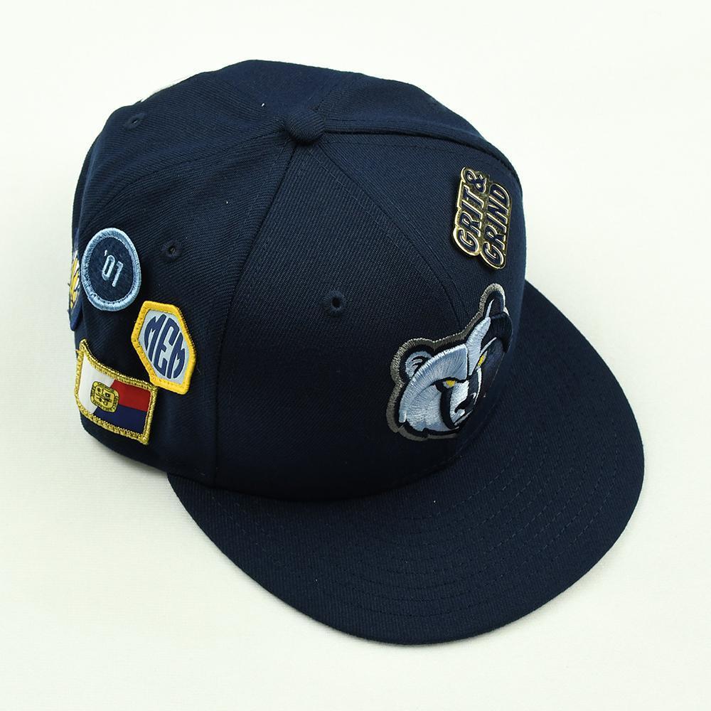 Jaren Jackson Jr. - Memphis Grizzlies - 2018 NBA Draft Class - Draft Night Photo-Shoot Worn Hat