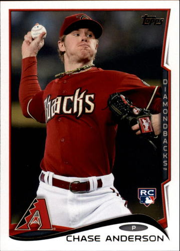Photo of 2014 Topps Update #US52 Chase Anderson RC