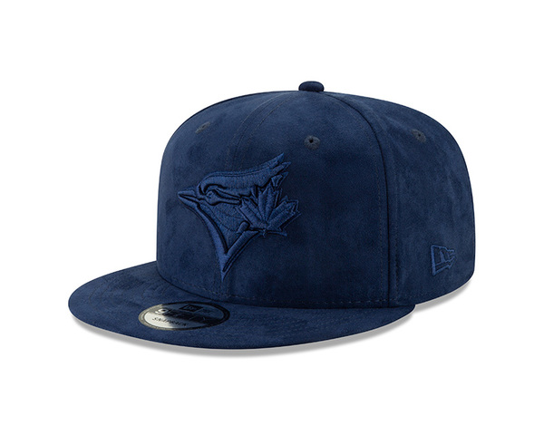 Toronto Blue Jays Spring Suede Navy Snapback by New Era