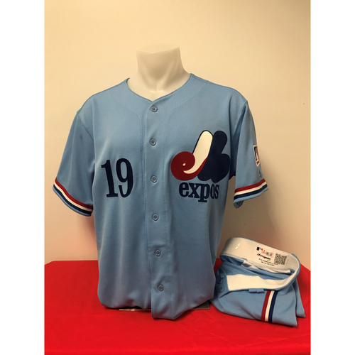 Photo of Anibal Sanchez Expos Gear: Game-Used Jersey and Game-Used Pants