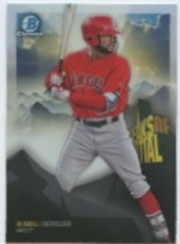 Photo of 2018 Bowman Chrome Peaks of Potential Refractors #PPJA Jo Adell