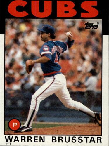 Photo of 1986 Topps #564 Warren Brusstar