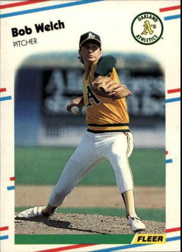 Photo of 1988 Fleer Update #57 Bob Welch