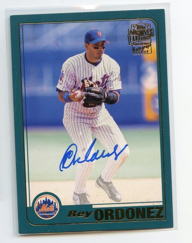 Photo of 2019 Topps Archives Fan Favorites Autographs #FFARO Rey Ordonez