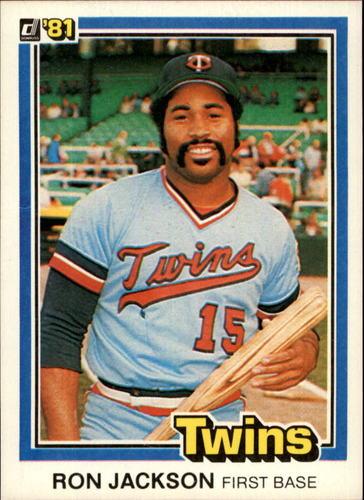 Photo of 1981 Donruss #489 Ron Jackson