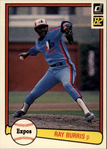 Photo of 1982 Donruss #414 Ray Burris
