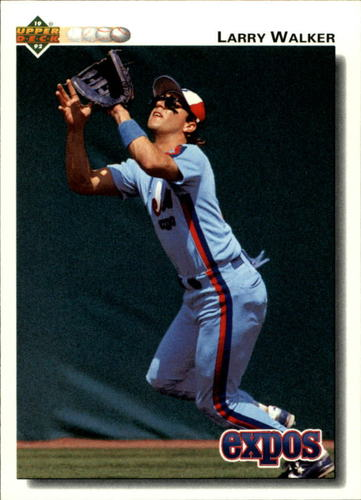 Photo of 1992 Upper Deck #249 Larry Walker