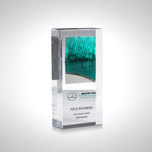 Photo of Nico Rosberg 2014 Bodywork in Acrylic - Mercedes-AMG Petronas Motorsport