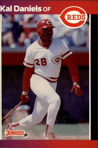 Photo of 1989 Donruss #198 Kal Daniels
