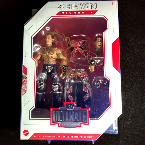Shawn Michaels SIGNED Ultimate Edition Action Figure