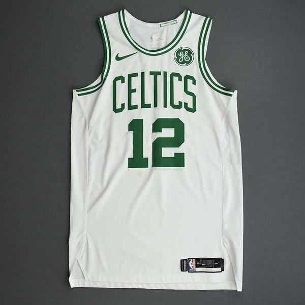 Image of Grant Williams - Boston Celtics - Game-Worn Association Edition Rookie Debut Jersey - Opening Night 2019-20 Season