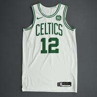Grant Williams - Boston Celtics - Game-Worn Association Edition Rookie Debut Jersey - Opening Night 2019-20 Season