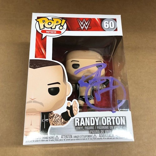 Photo of Randy Orton SIGNED POP! Vinyl Figure