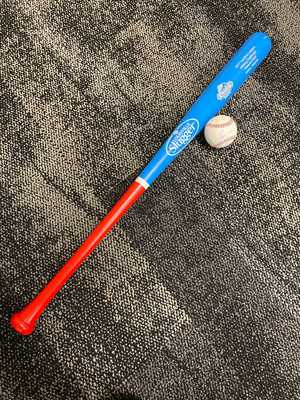 Eloy Jimenez Autogrpahed Baseball & 2017 Carolina League Hitting Challenge Bat