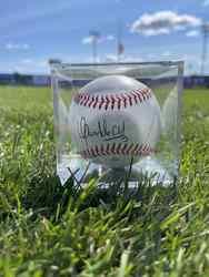 Photo of Oswaldo Cabrera Signed Baseball