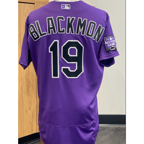 Photo of 2021 Game-Used Charlie Blackmon Jersey - 9 Games, 13 Hits, 3 Homeruns, 12 RBI's.