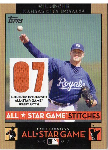 Photo of 2007 Topps Update All-Star Stitches #GM Gil Meche