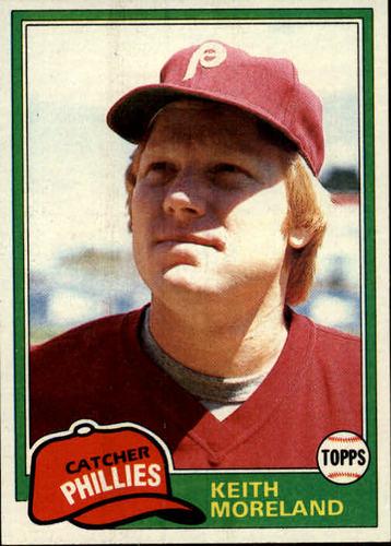 Photo of 1981 Topps #131 Keith Moreland RC