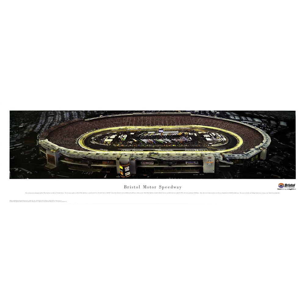 Bristol Motor Speedway Nightime 13.5
