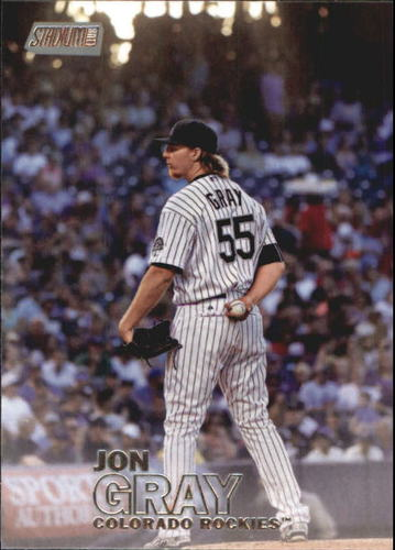 Photo of 2016 Stadium Club #251 Jon Gray Rookie Card  -- Rockies post-season