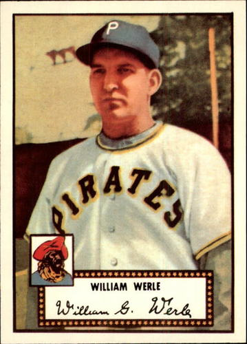 Photo of 1983 Topps 1952 Reprint #73 Bill Werle