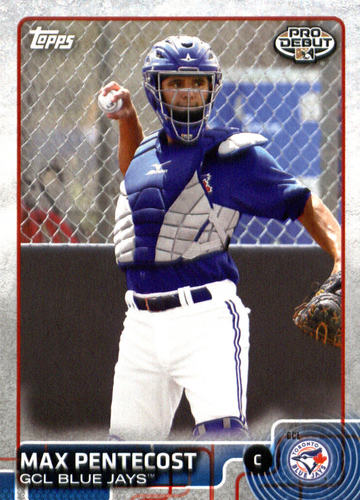 Photo of 2015 Topps Pro Debut #44 Max Pentecost