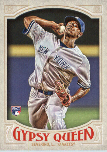 Photo of 2016 Topps Gypsy Queen #13A Luis Severino RC/Gray jersey