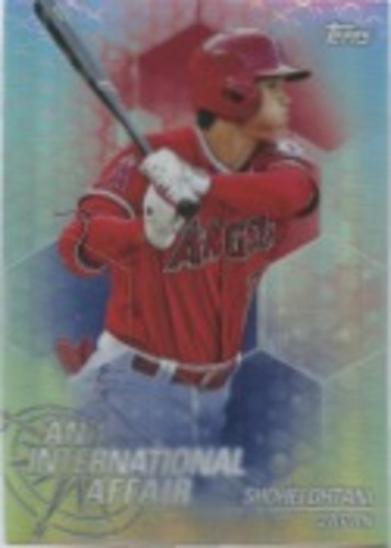 Photo of 2018 Topps Chrome Update An International Affair #IASO Shohei Ohtani