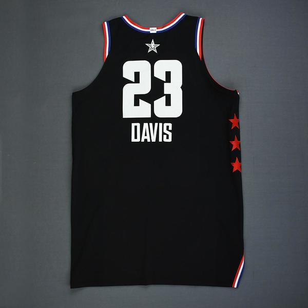 0139cfefed7 Anthony Davis - 2019 NBA All-Star Game - Team LeBron - Game-Worn ...