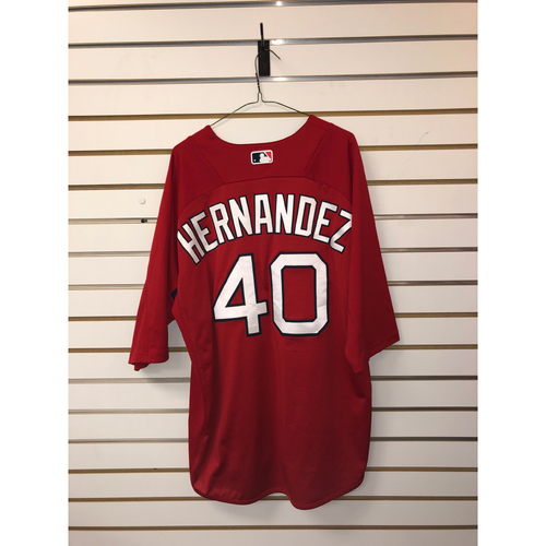 Photo of Marco Hernandez Team-Issued Home Batting Practice Jersey