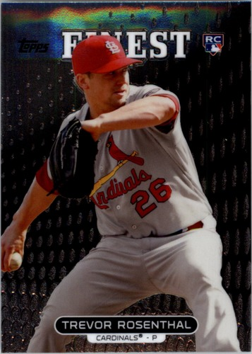 Photo of 2013 Finest #95 Trevor Rosenthal RC