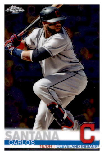 Photo of 2019 Topps Chrome #44 Carlos Santana