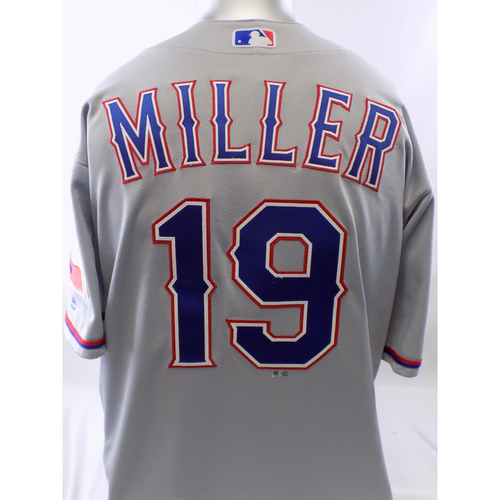 Photo of Team-Issued Grey Shelby Miller Jersey - Size 46