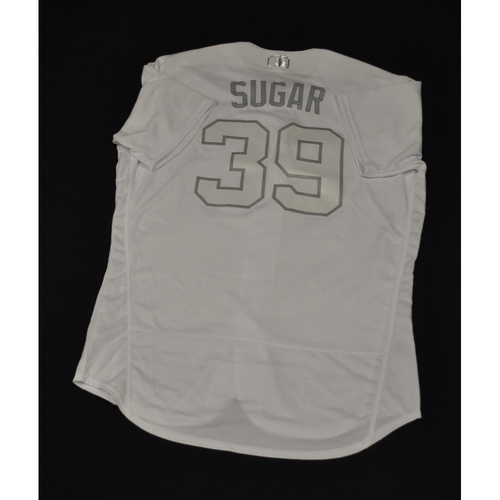"Photo of Edwin ""SUGAR"" Diaz New York Mets Game-Used 2019 Players' Weekend Jersey"