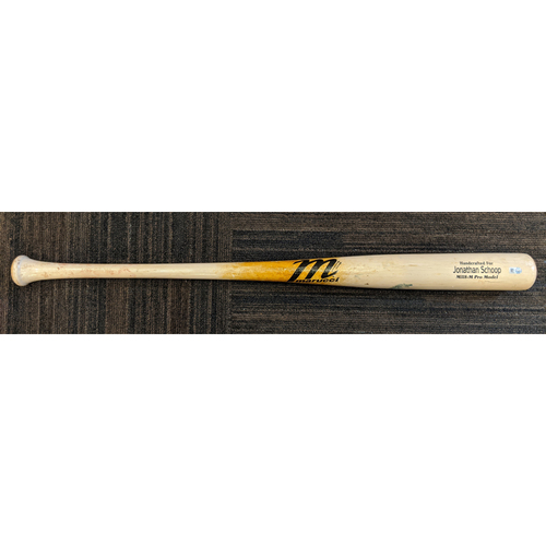 Photo of Jonathan Schoop - Broken Bat: Game-Used