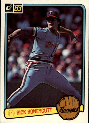 Photo of 1983 Donruss #415 Rick Honeycutt
