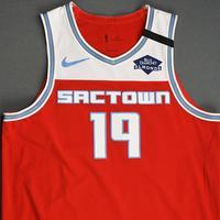 DaQuan Jeffries - Sacramento Kings - Game-Worn City Edition Jersey - 2019-20 Season