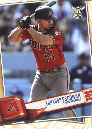 Photo of 2019 Topps Big League #29 Eduardo Escobar