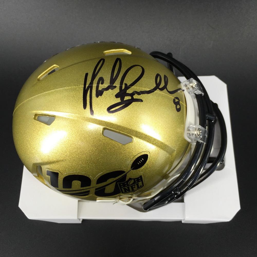 Legends - Jaguars Mark Brunell Signed NFL 100 Mini Helmet