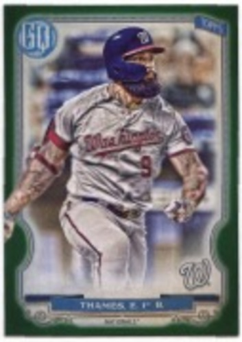 Photo of 2020 Topps Gypsy Queen Green #140 Eric Thames