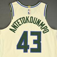 Thanasis Antetokounmpo - Milwaukee Bucks - Game-Issued City Edition Jersey - 2019-20 NBA Season