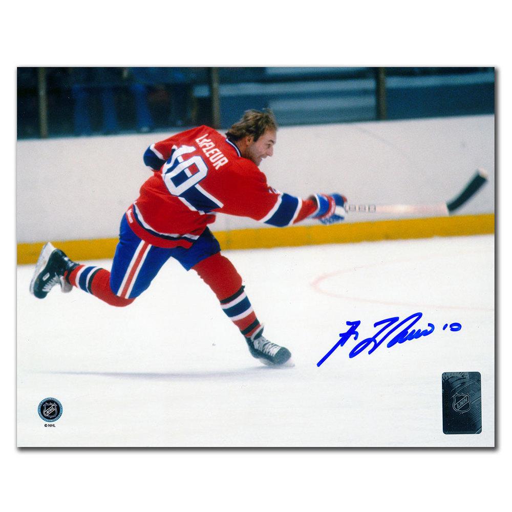 Guy Lafleur Montreal Canadiens Autographed 8x10